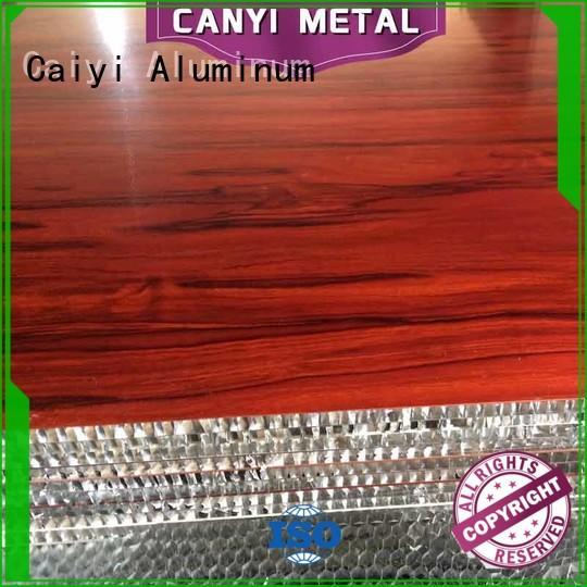 Caiyi honeycomb sheet manufacturer for curtain wall