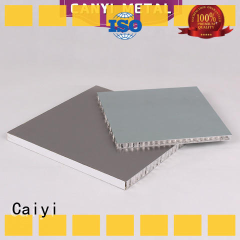 Caiyi high standard aluminum honeycomb fast shipping for building