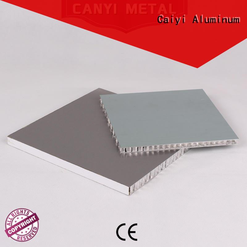 Caiyi best aluminum honeycomb manufacturer for curtain wall