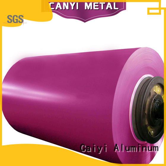 Caiyi waterproof 5052 aluminum brand for vehicles