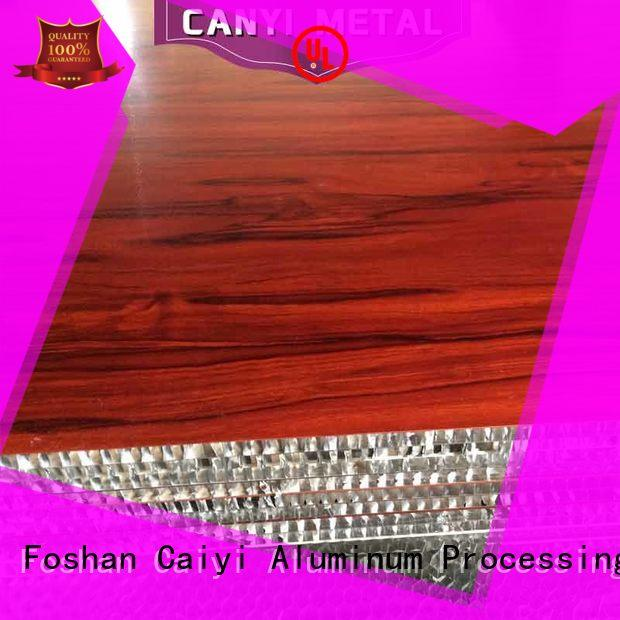 Caiyi best aluminum honeycomb supplier for elevator