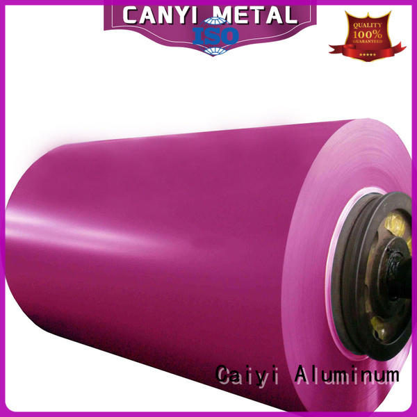Caiyi decorated 5052 aluminum series for industry