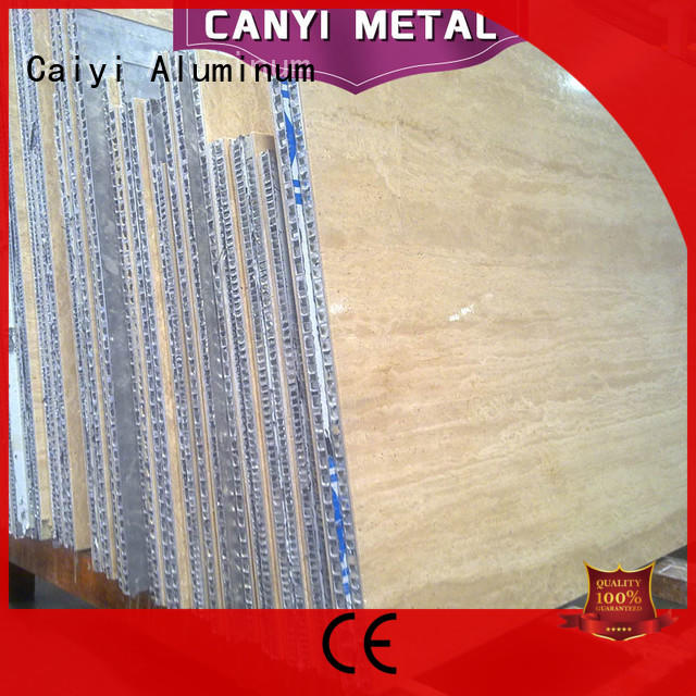 Caiyi best honeycomb panel manufacturer for curtain wall