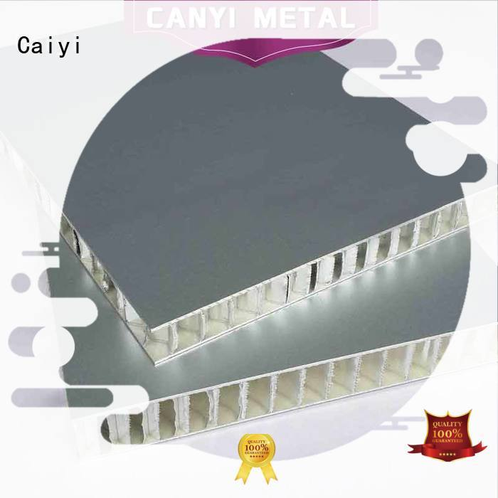 Caiyi aluminum honeycomb supplier for decoration