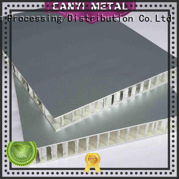 Caiyi custom aluminum honeycomb supplier for outdoor ceiling