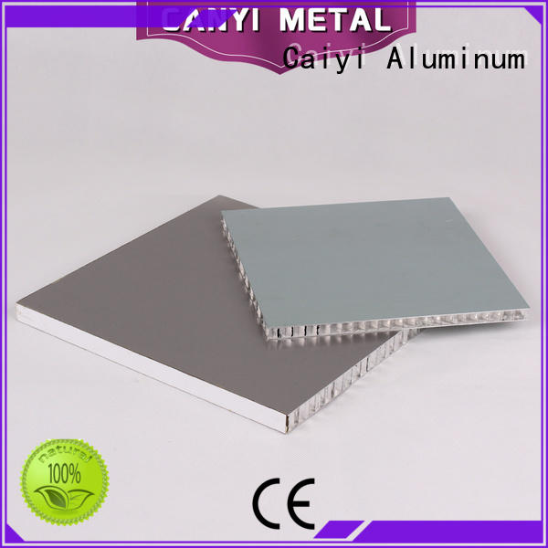 Caiyi 100% quality aluminum honeycomb wholesale for outdoor ceiling