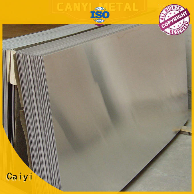 Caiyi waterproof aluminium alloy sheet quick transaction for importer