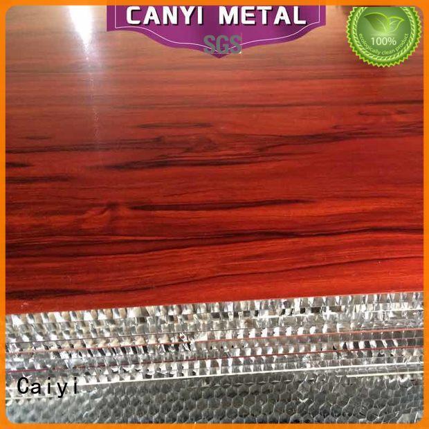Caiyi best aluminum honeycomb panels customization for elevator