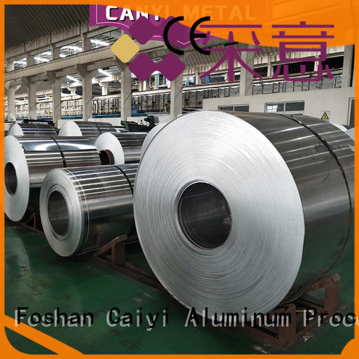 Caiyi top 6061 aluminum plate manufacturer for factory