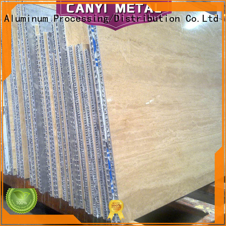 Caiyi high standard aluminum honeycomb supplier for building