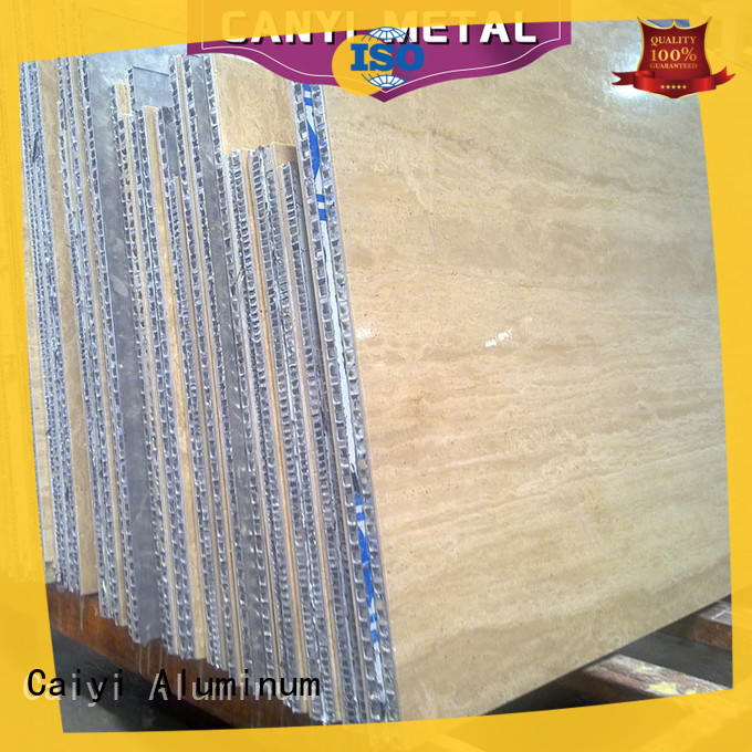 Caiyi best honeycomb panel customization for building