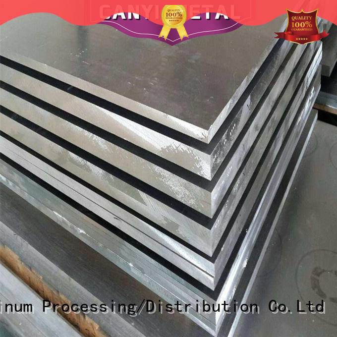 Caiyi plate 6061 aluminum plate customization for factory