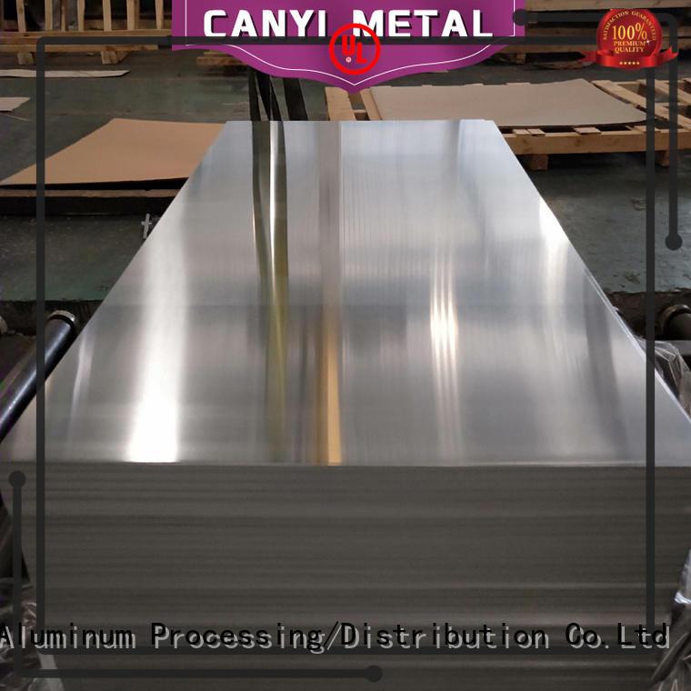 Caiyi embossed aluminium alloy sheet customization for hardware