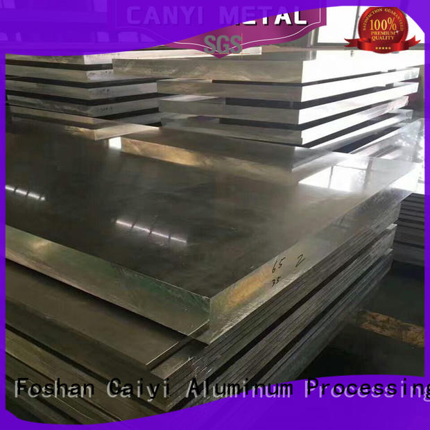Caiyi series 6061 aluminum plate supplier for hardware