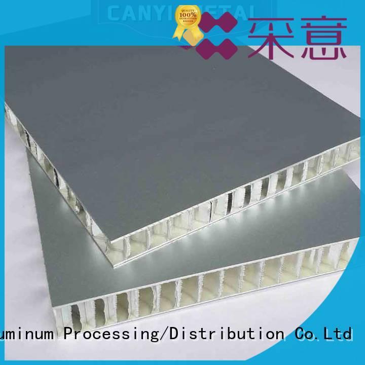 Caiyi aluminum honeycomb factory for building