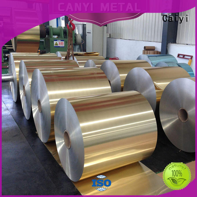 Caiyi aluminum roll for packing