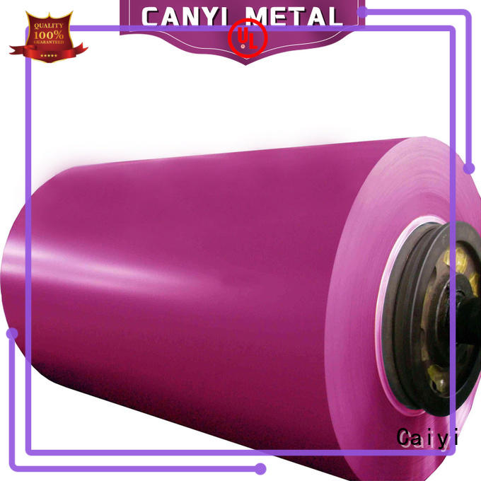 Caiyi 5000 series aluminum customization for oil pipes