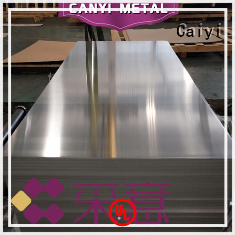 Caiyi coated 3003 aluminum sheet manufacturer for industry