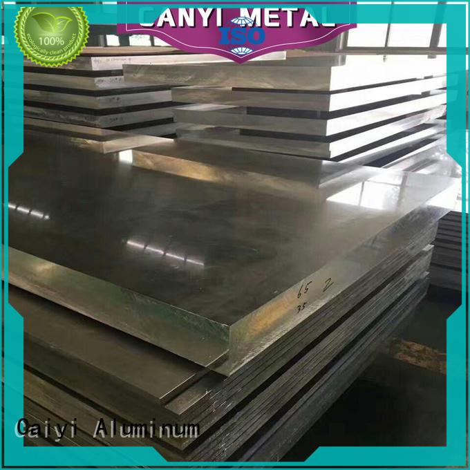 Caiyi best 6061 t6 aluminum sheet supplier for mechanical