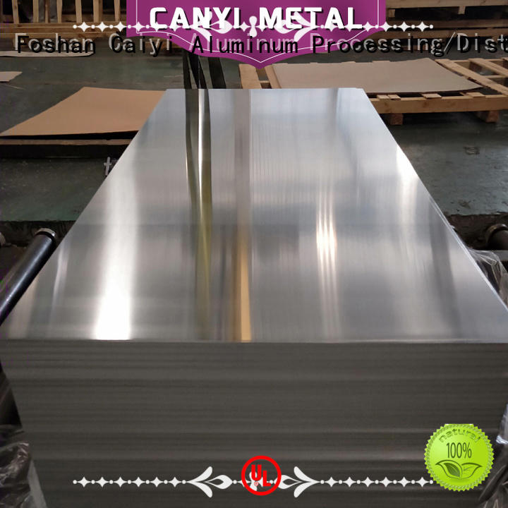 Caiyi embossed 3003 aluminum plate quick transaction for importer