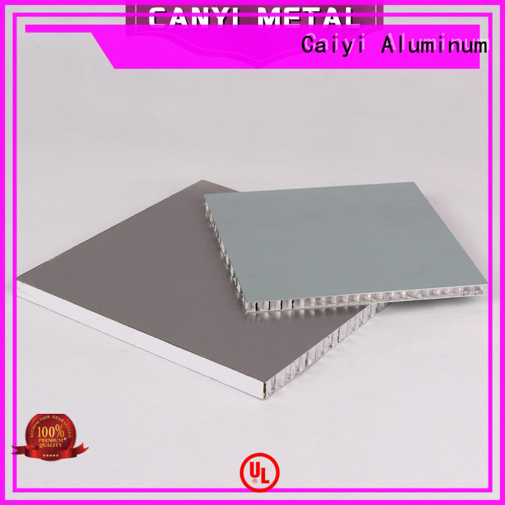 100% quality aluminum honeycomb panels best customization for outdoor ceiling
