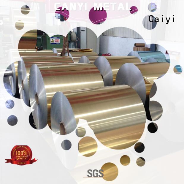 Caiyi aluminium aluminum foil roll aluminum for hardware