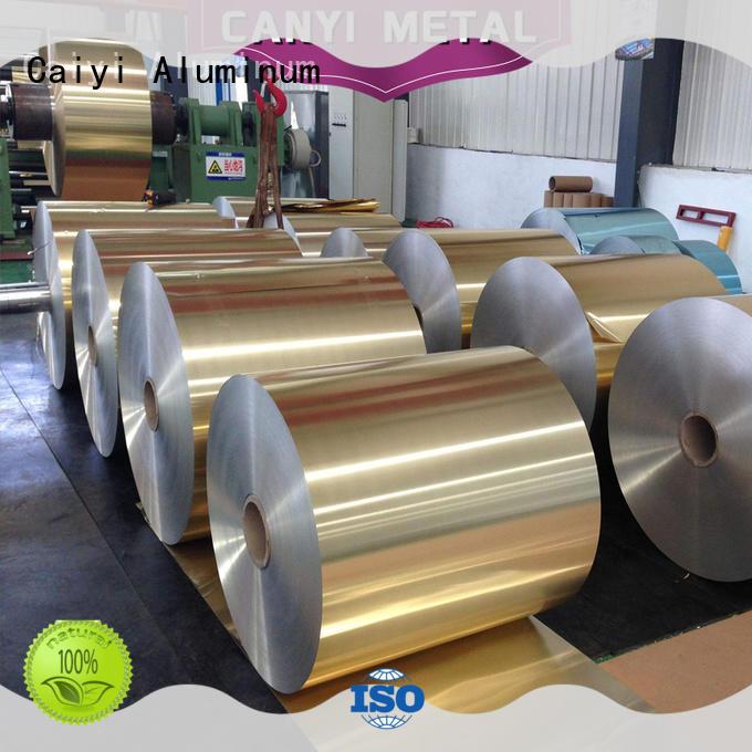 Caiyi price aluminum foil composition wholesale for hardware