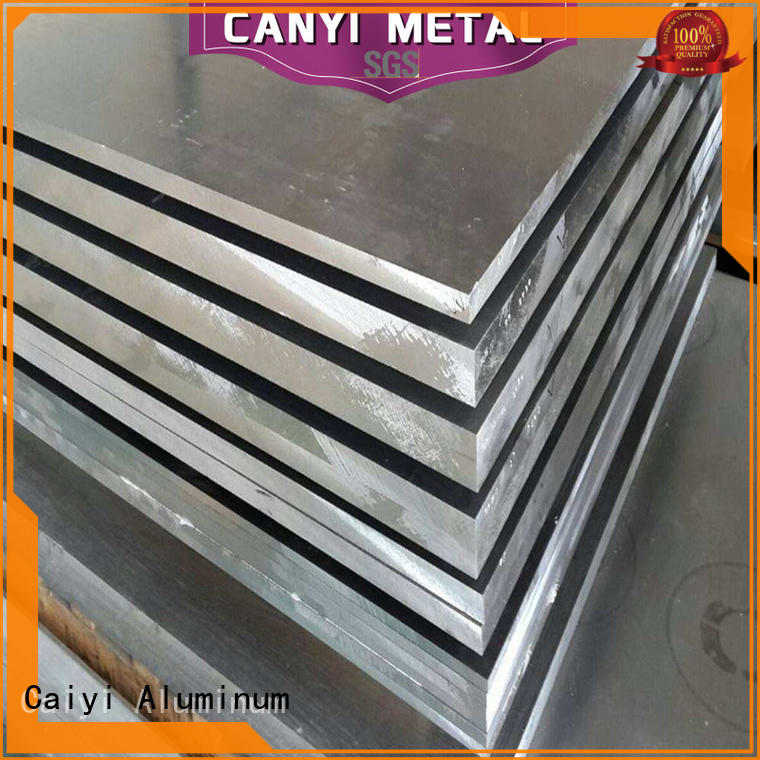 Caiyi quality 6061 t6 aluminum sheet supplier for factory