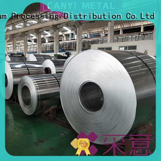 Caiyi top 6061 aluminum sheet customization for factory