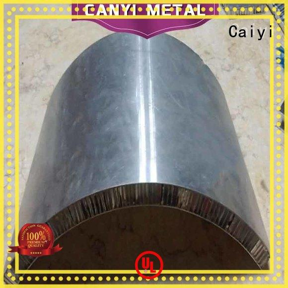 Caiyi best aluminum honeycomb panels series for elevator