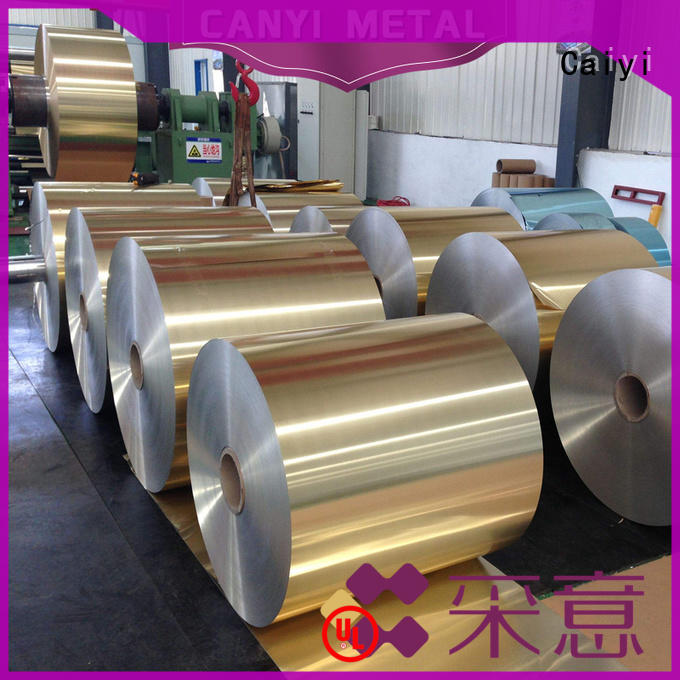 Caiyi aluminum roll for packaging