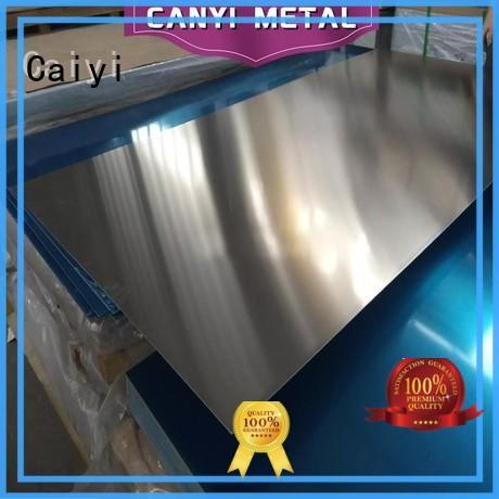 Caiyi manufacture 3000 series aluminum sheet for hardware