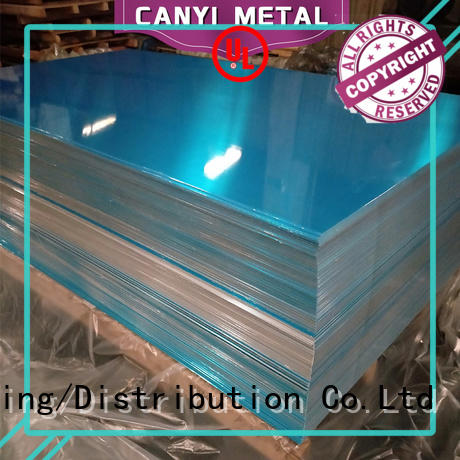 Caiyi waterproof 5052 aluminum sheet wholesale for metal parts