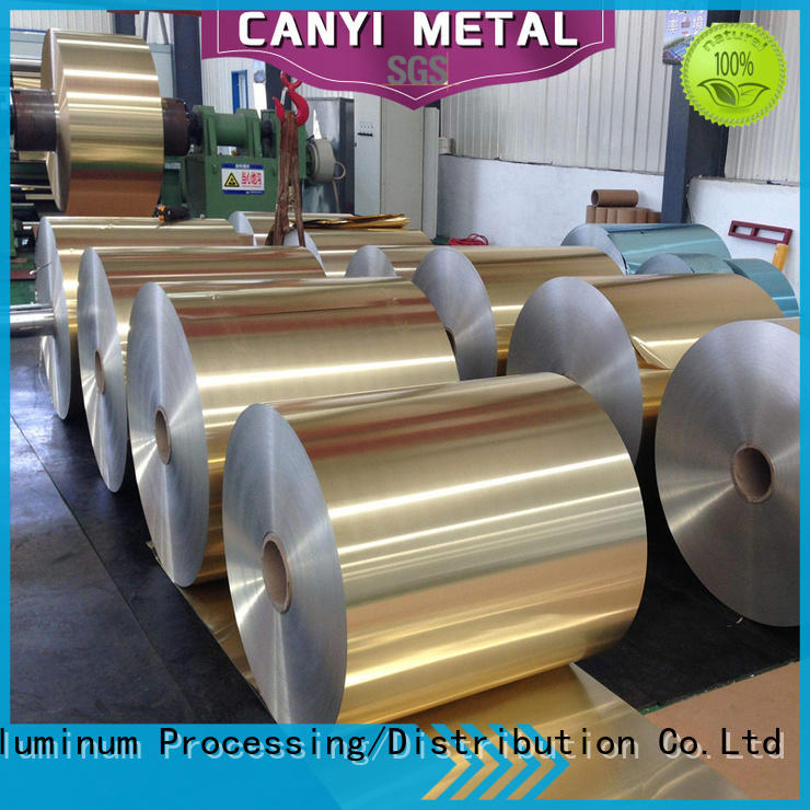 Caiyi waterproof aluminum roll factory direct marketing for packing