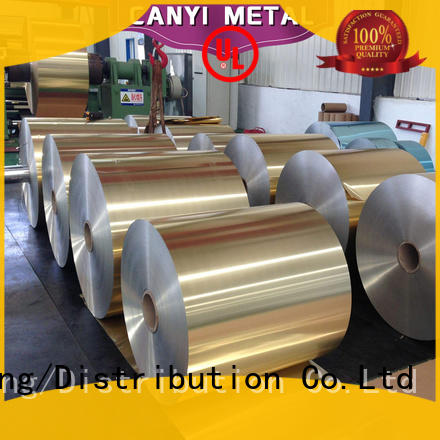 food aluminum foil roll food factory Caiyi