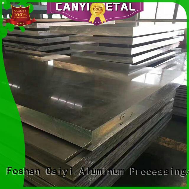 Caiyi top 6061 aluminum sheet manufacturer for hardware