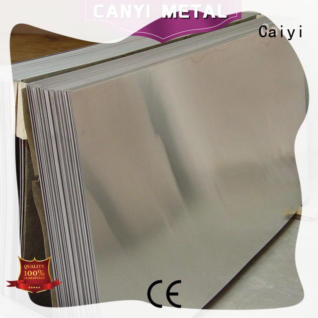 embossed 3003 aluminum sheet manufacturer factory Caiyi