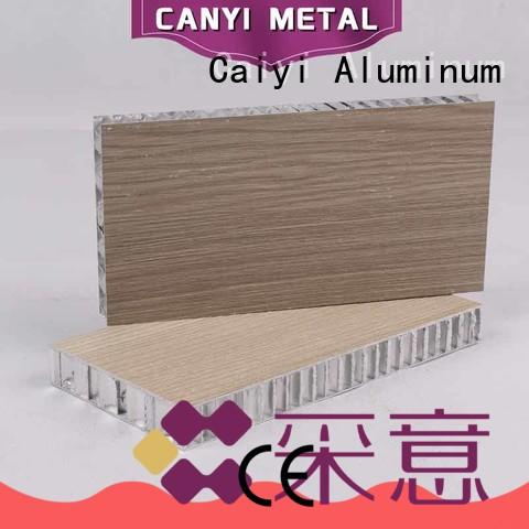 Caiyi cheap honeycomb panel manufacturer for elevator