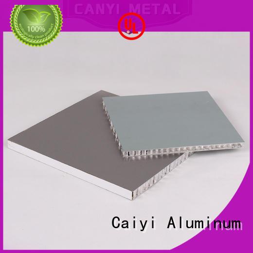 Caiyi cheap honeycomb sheet supplier for curtain wall