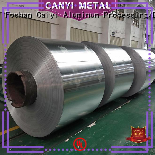 Caiyi high quality aluminium alloy sheet quick transaction for baffles