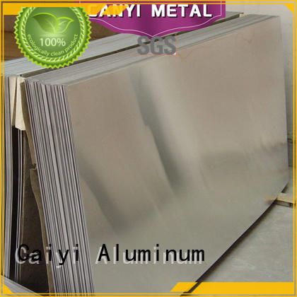 low cheap aluminum plate sheet for hardware Caiyi