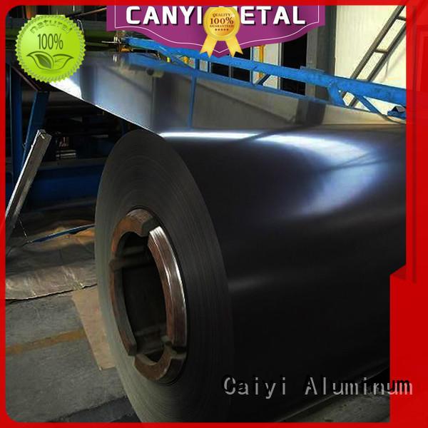 Caiyi aluminum panel sheet export worldwide for gutters