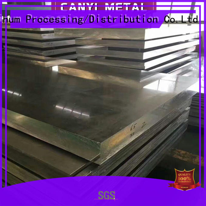 Caiyi 6061 aluminum price on a mass scale for communications