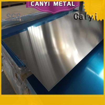 Caiyi cheap aluminium alloy sheet wholesale for baffles