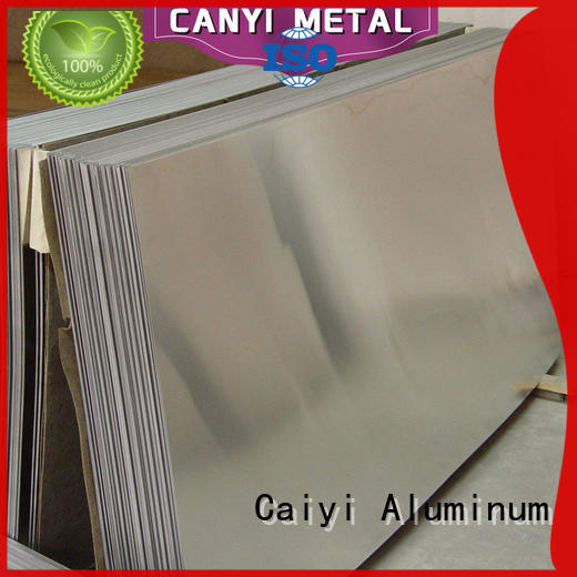 Caiyi eco-friendly aluminum panel sheet brand for importer