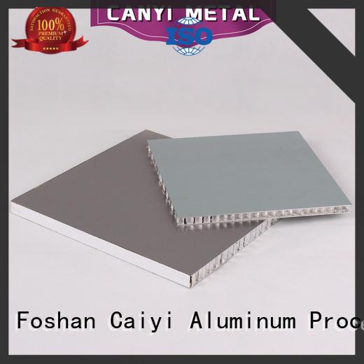 Caiyi best honeycomb sheet customization for building