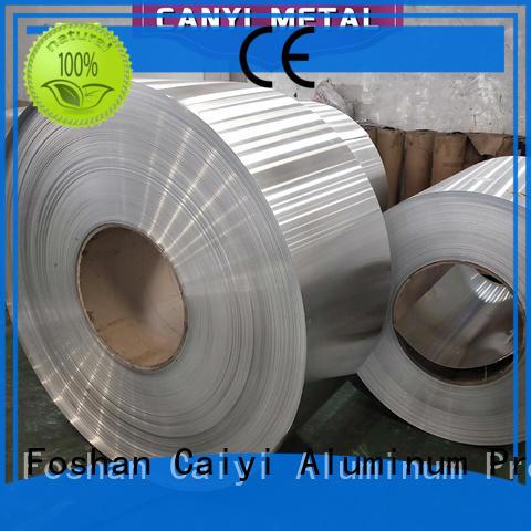 Caiyi aluminum price of aluminum alloy 6061 series for hardware