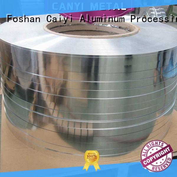 Caiyi 5052 h32 aluminum sheet one-stop services for oil pipes