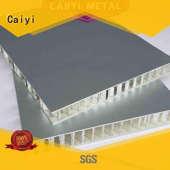 Caiyi custom honeycomb sheet series for outdoor ceiling