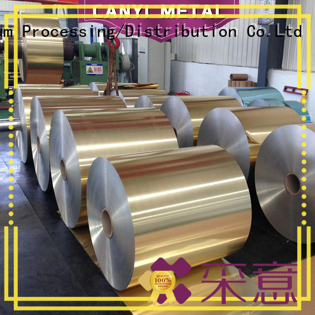 Caiyi price aluminum foil roll wholesale for factory